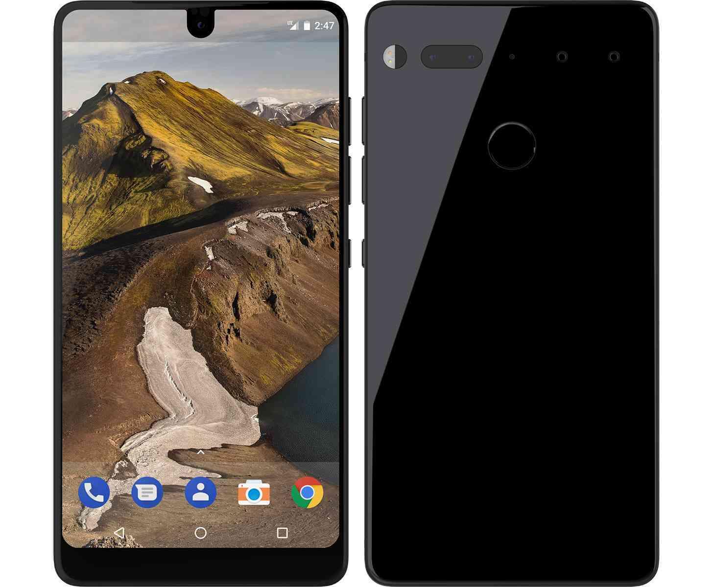 Android P получит новый дизайн и будет поддерживать вырез для камеры в дисплее